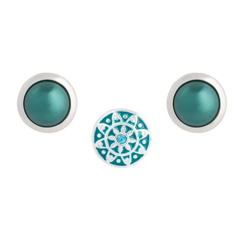 Teal Emblem Dot Set